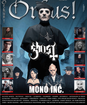 METALWINGS featured with their debut album in Orkus Magazin June 2018