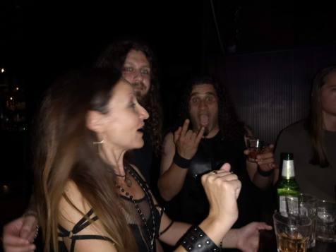 Stela, Krastyo and Blackie